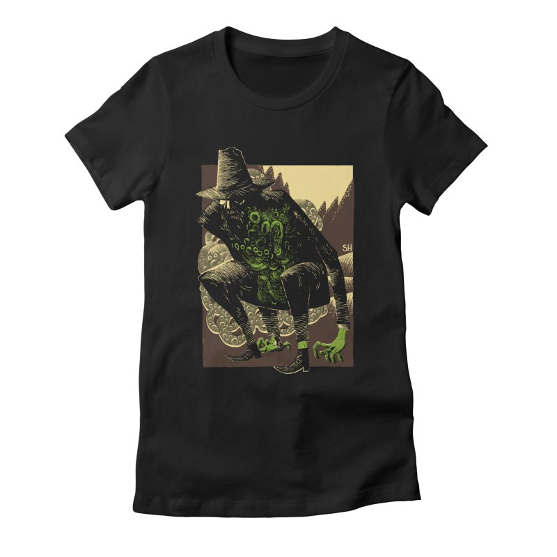 Wilbur Whateley Women's Fitted T-Shirt by Sam Heimer
