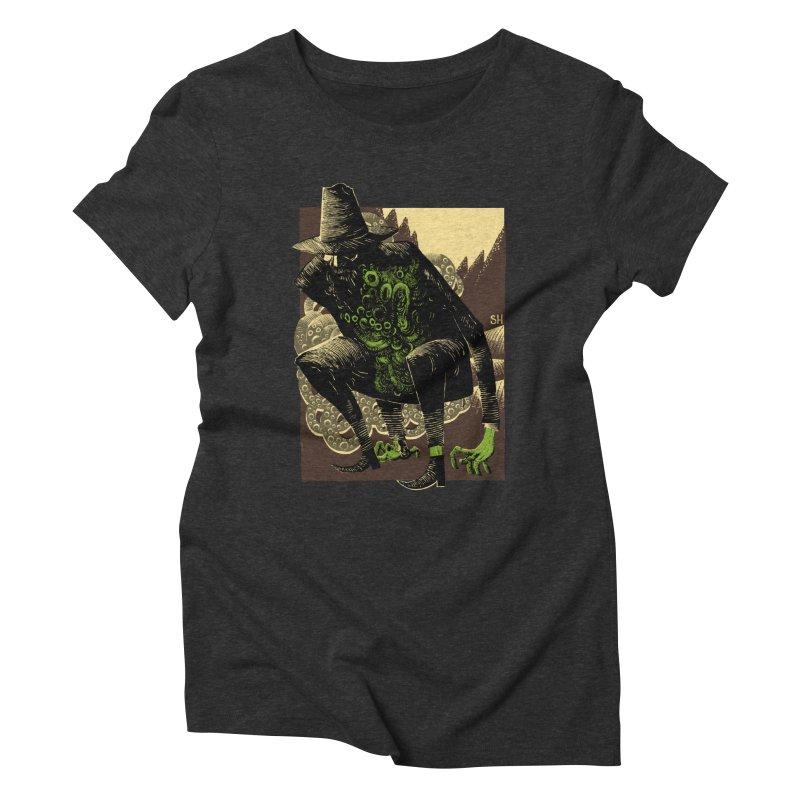 Wilbur Whateley Women's Triblend T-Shirt by Sam Heimer