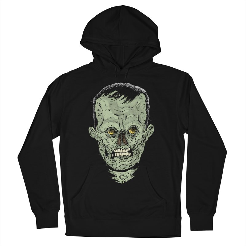 DEAD HEAD Men's French Terry Pullover Hoody by Sam Heimer