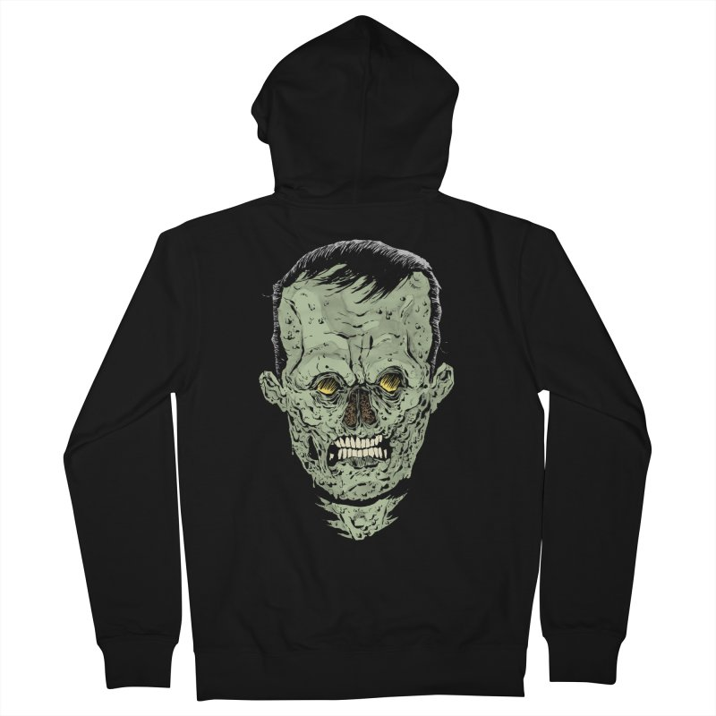 DEAD HEAD Men's French Terry Zip-Up Hoody by Sam Heimer
