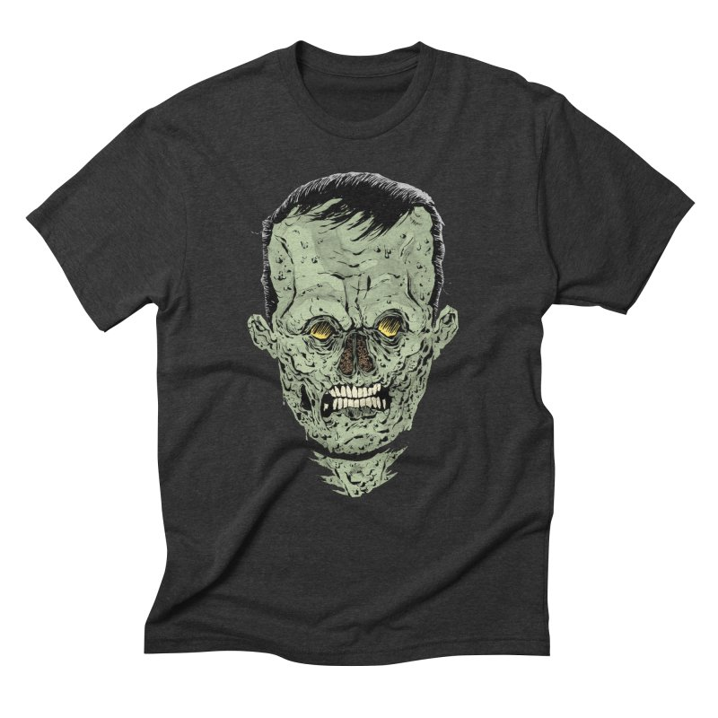 DEAD HEAD Men's Triblend T-Shirt by Sam Heimer