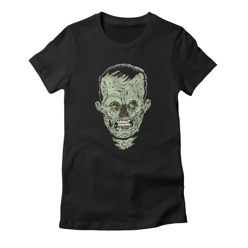 DEAD HEAD Women's Fitted T-Shirt by Sam Heimer