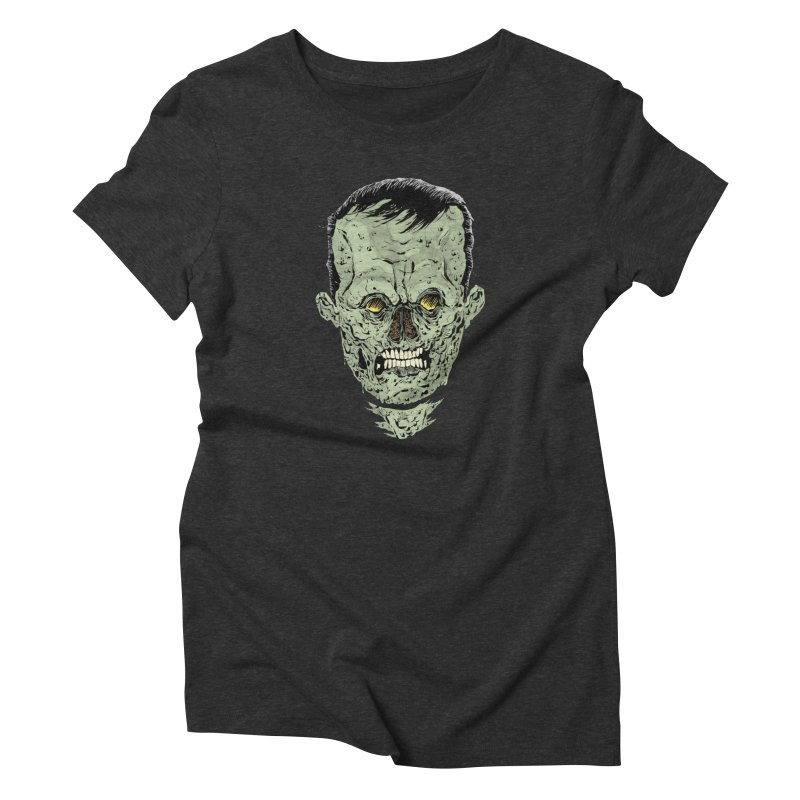 DEAD HEAD Women's Triblend T-shirt by Sam Heimer