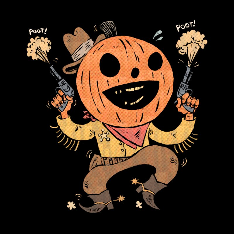 Giddy-Up Halloween! Kids T-Shirt by Sam Heimer