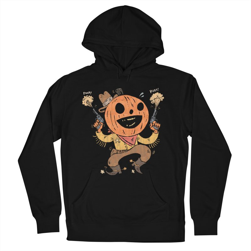 Giddy-Up Halloween! Men's French Terry Pullover Hoody by Sam Heimer