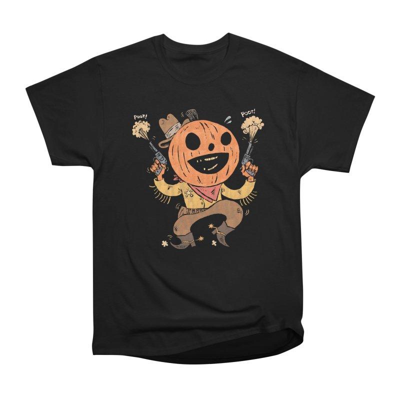 Giddy-Up Halloween! Women's Heavyweight Unisex T-Shirt by Sam Heimer