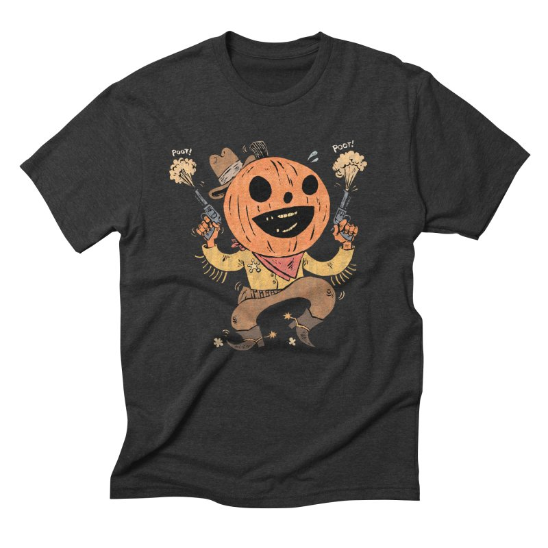 Giddy-Up Halloween! Men's Triblend T-Shirt by Sam Heimer