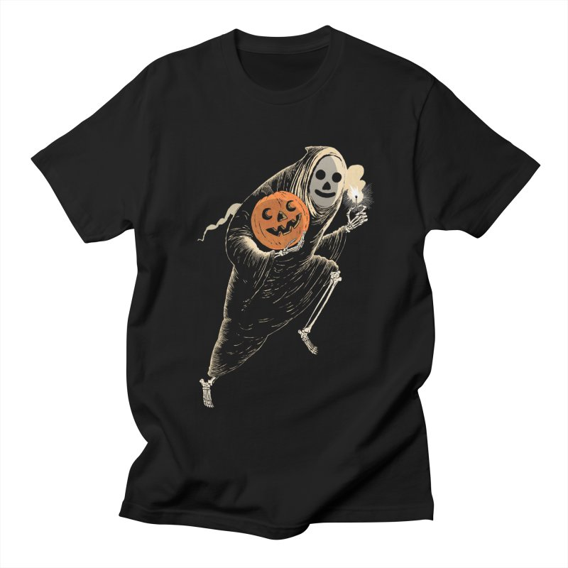 Light the Way O' Halloween Men's T-Shirt by Sam Heimer