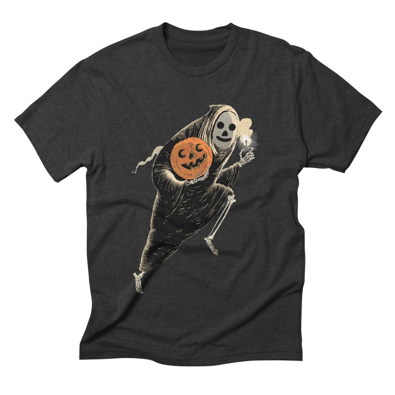 Light the Way O' Halloween Men's Triblend T-Shirt by Sam Heimer