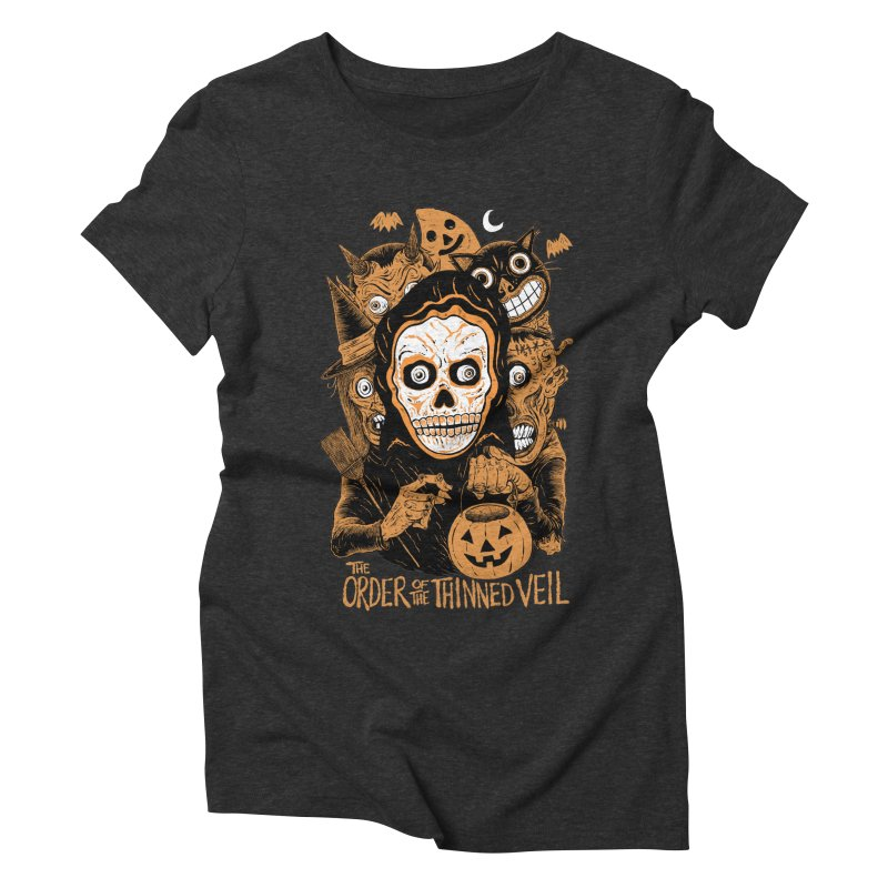 Order of the Thinned Veil 'Trick-Or-Creep' Women's T-Shirt by Sam Heimer