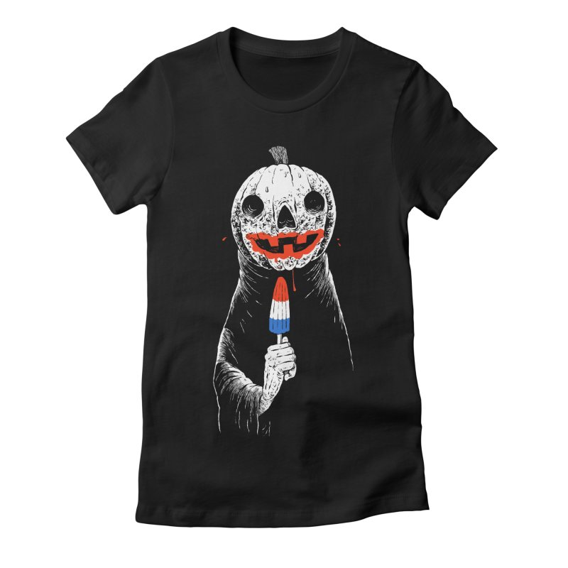 TERRIBLE SUMMER Women's Fitted T-Shirt by Sam Heimer