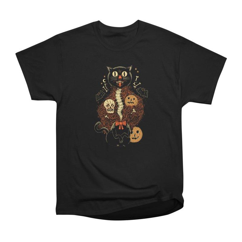 Confetti Cat Men's Heavyweight T-Shirt by Sam Heimer