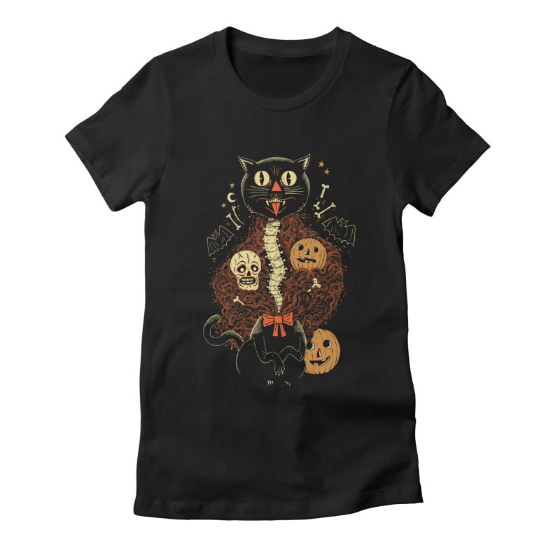Confetti Cat Women's T-Shirt by Sam Heimer