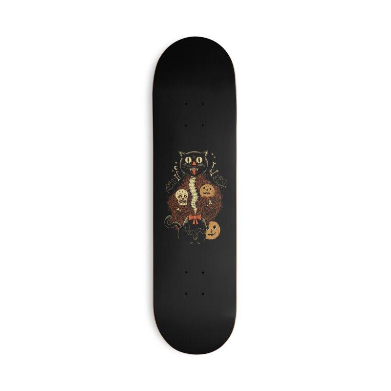 Confetti Cat Accessories Skateboard by Sam Heimer