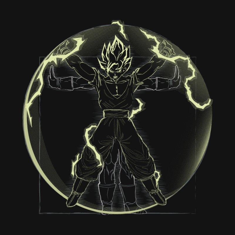 Vitruvian Saiyan Goku by samiel's Artist Shop