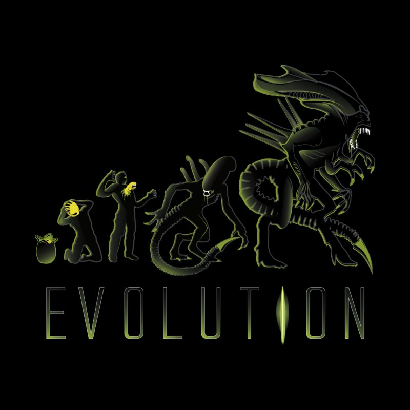 Alien Evolution ( Black Variant) by samiel's Artist Shop