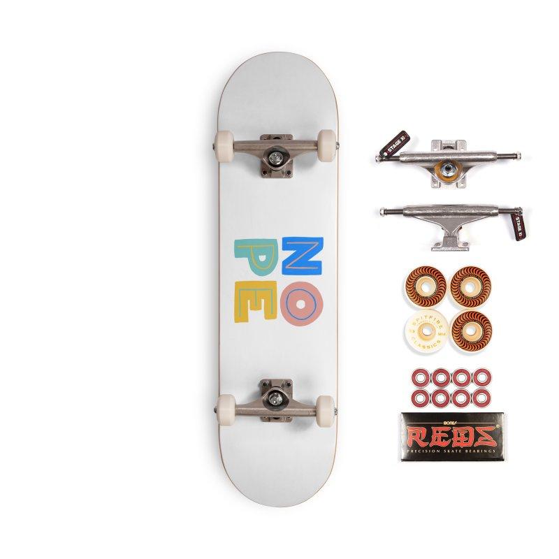 Nope Slogan Accessories Skateboard by Sam Osborne Store
