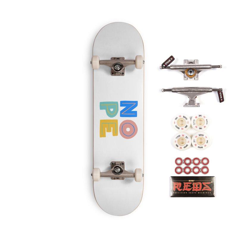 Nope Slogan Accessories Complete - Pro Skateboard by Sam Osborne Store