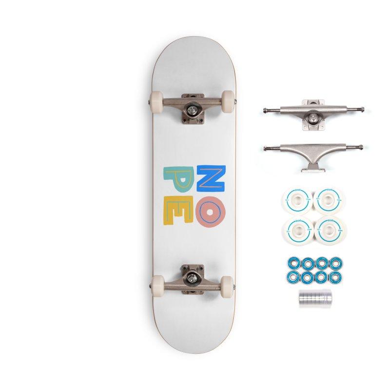Nope Slogan Accessories Complete - Basic Skateboard by Sam Osborne Store