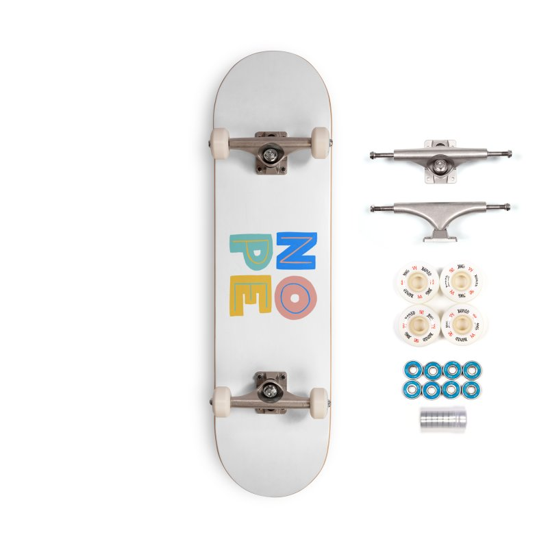 Nope Slogan Accessories Complete - Premium Skateboard by Sam Osborne Store