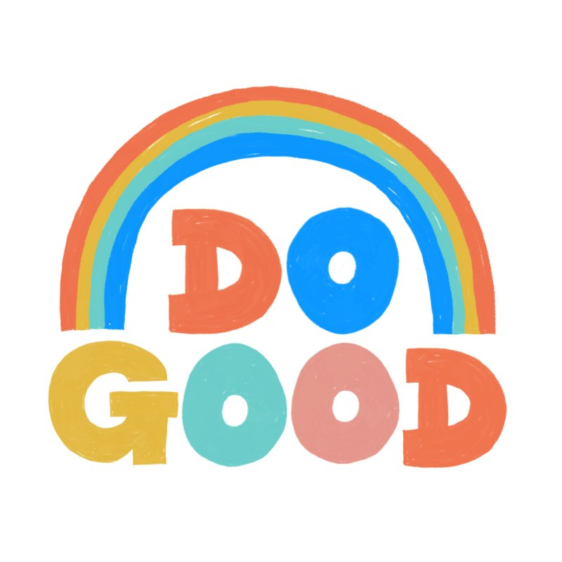 Do Good Home Rug by Sam Osborne Store