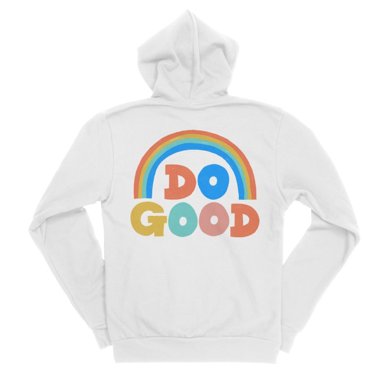 Do Good Men's Zip-Up Hoody by Sam Osborne Store