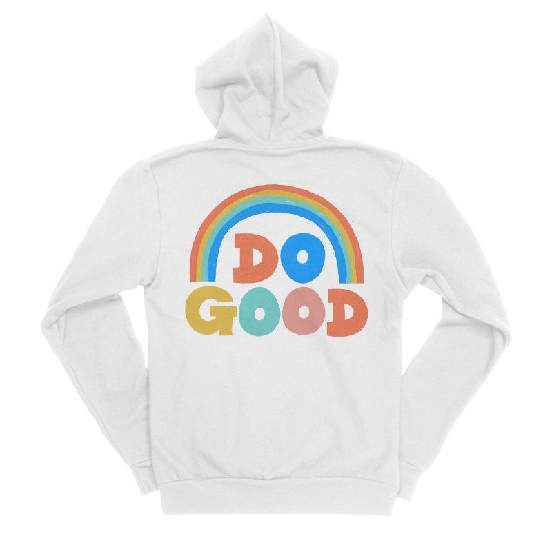Do Good Men's Sponge Fleece Zip-Up Hoody by Sam Osborne Store