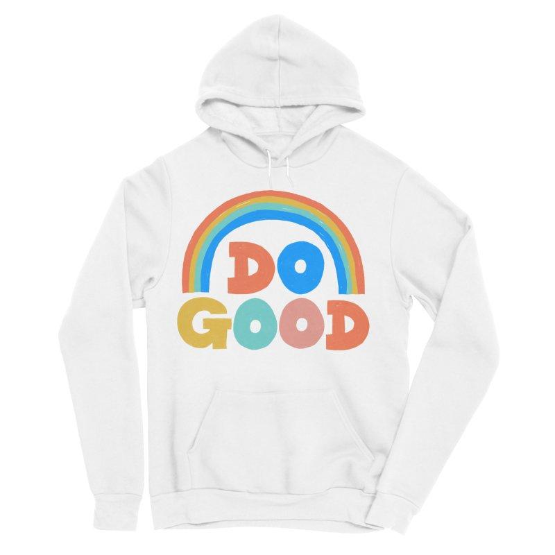 Do Good Men's Sponge Fleece Pullover Hoody by Sam Osborne Store
