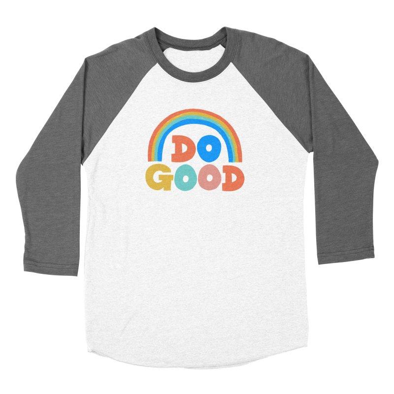 Do Good Men's Baseball Triblend Longsleeve T-Shirt by Sam Osborne Store