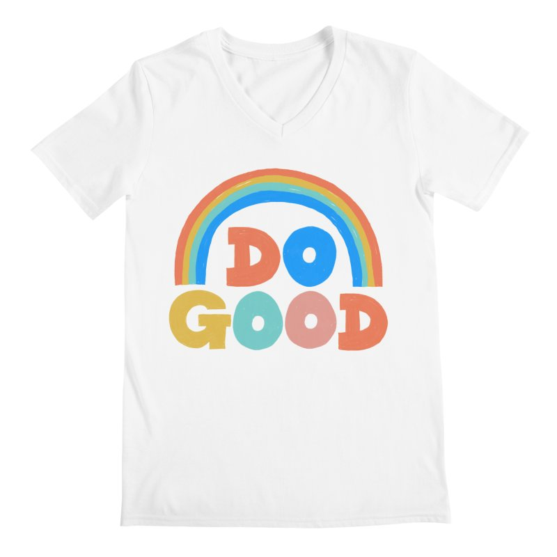 Do Good Men's V-Neck by Sam Osborne Store