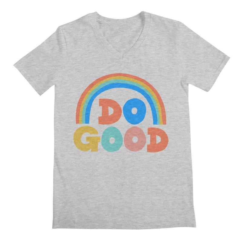 Do Good Men's V-Neck by Sam Osborne Store