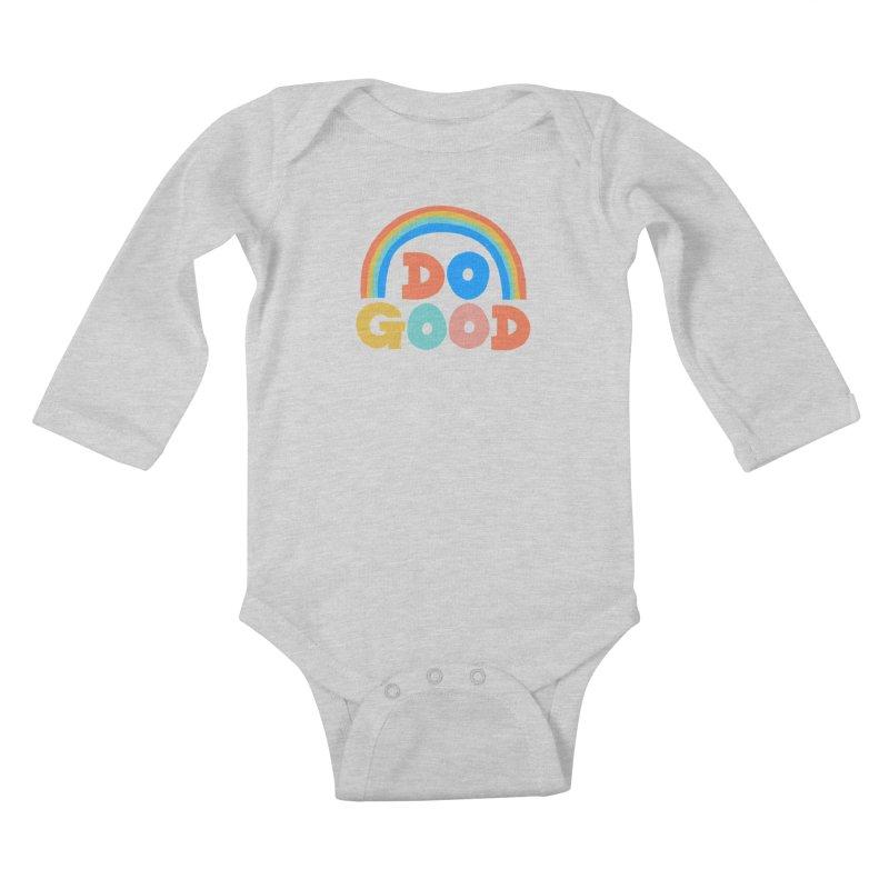 Do Good Kids Baby Longsleeve Bodysuit by Sam Osborne Store