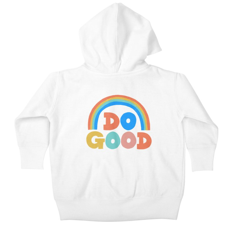 Do Good Kids Baby Zip-Up Hoody by Sam Osborne Store