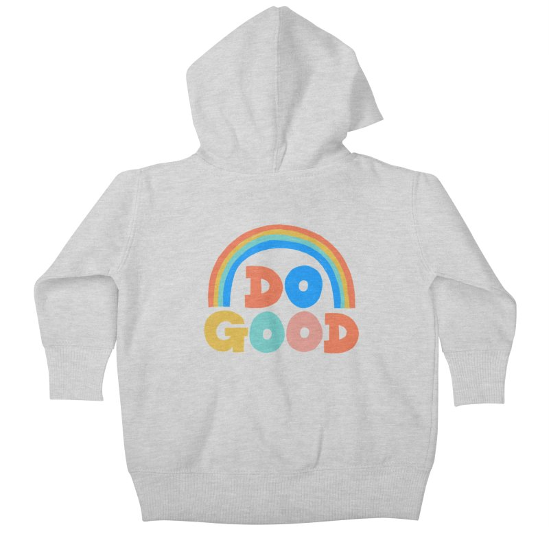 Do Good Kids Baby Zip-Up Hoody by Sam Osborne Store