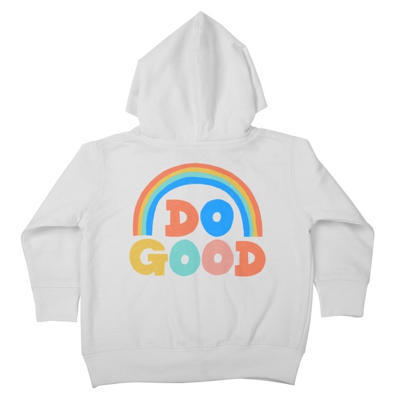 Do Good Kids Toddler Zip-Up Hoody by Sam Osborne Store