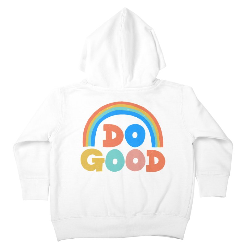 Do Good Kids Toddler Zip-Up Hoody by Sam Osborne Store