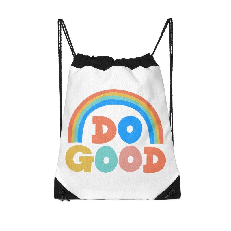 Do Good Accessories Drawstring Bag Bag by Sam Osborne Store