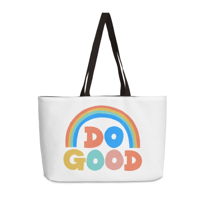 Do Good Accessories Weekender Bag Bag by Sam Osborne Store