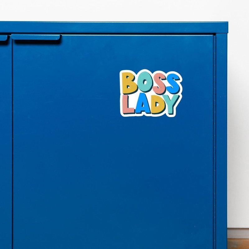 Boss Lady Accessories Magnet by Sam Osborne Store