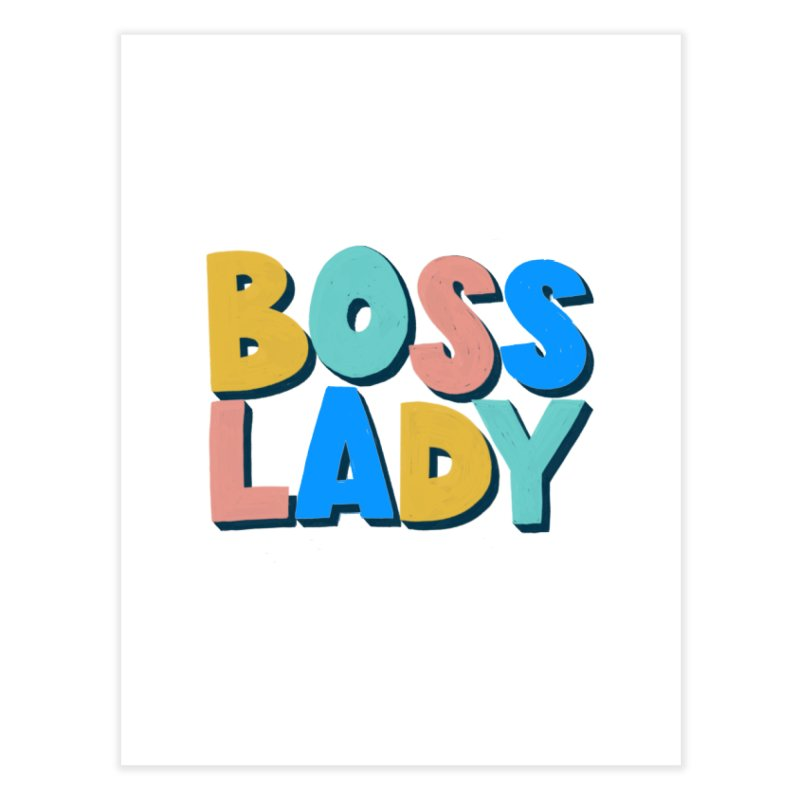 Boss Lady Home Fine Art Print by Sam Osborne Store