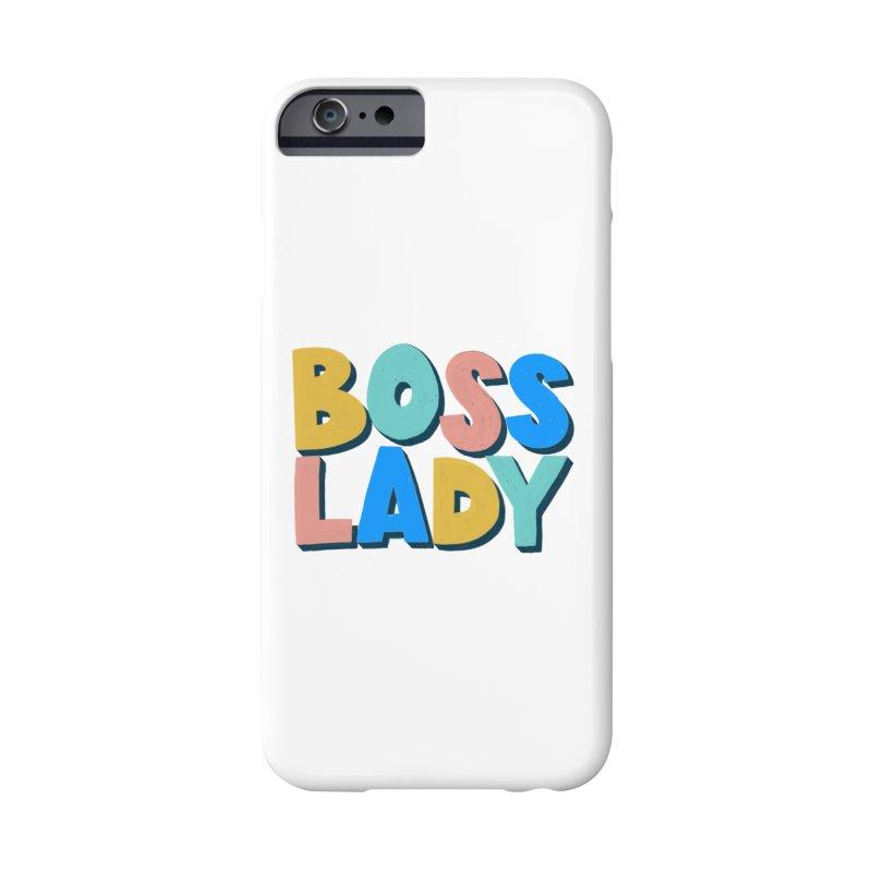 Boss Lady Accessories Phone Case by Sam Osborne Store