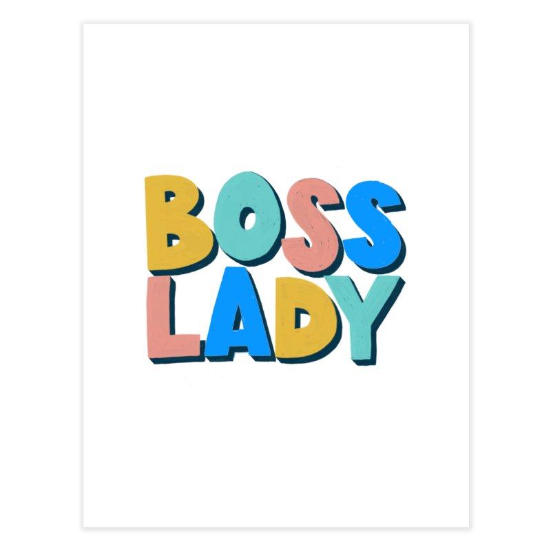 Boss Lady Home Fine Art Print by Sam Osborne Store