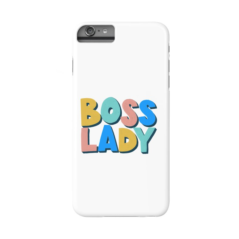 Boss Lady Accessories Phone Case by Sam Osborne Store