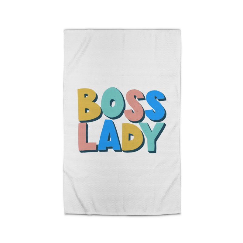 Boss Lady Home Rug by Sam Osborne Store