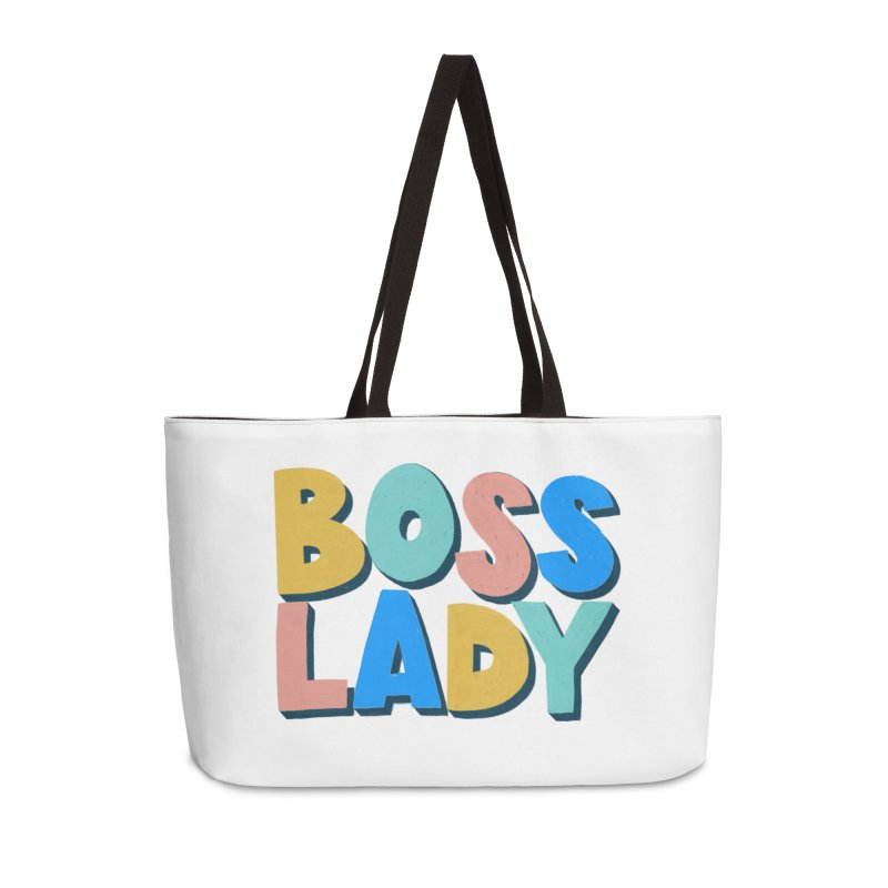 Boss Lady Accessories Weekender Bag Bag by Sam Osborne Store