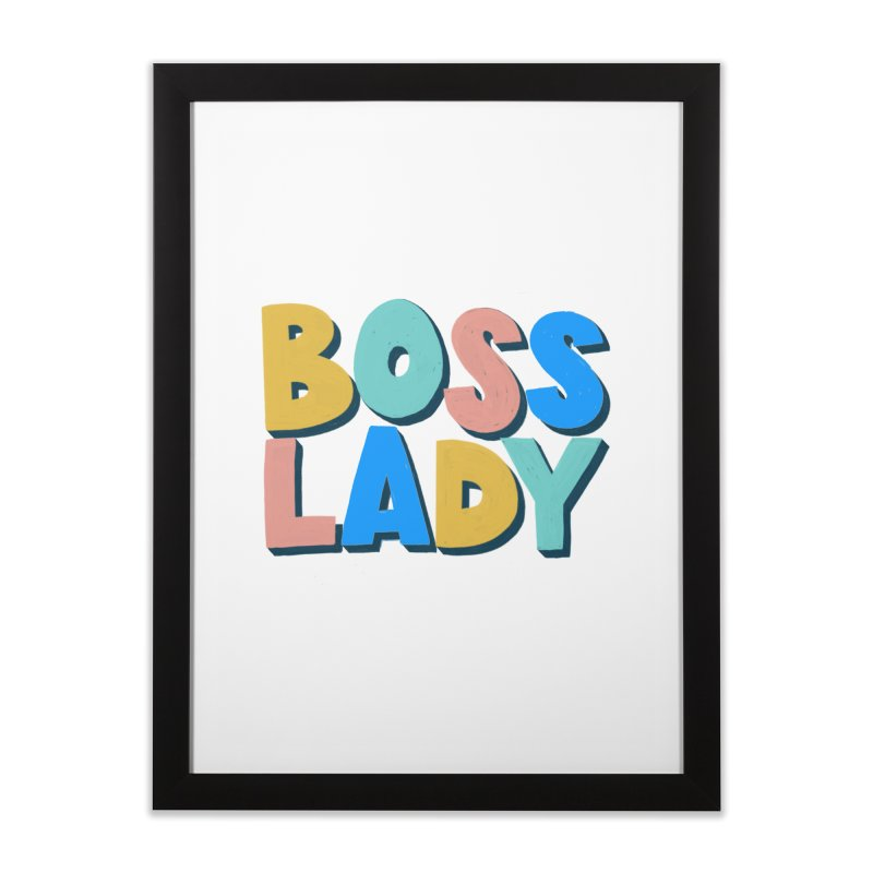 Boss Lady Home Framed Fine Art Print by Sam Osborne Store