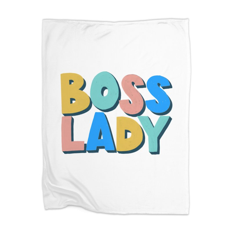 Boss Lady Home Blanket by Sam Osborne Store