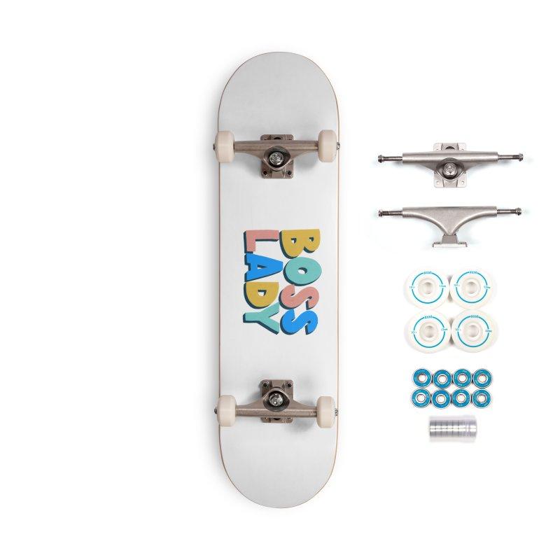 Boss Lady Accessories Skateboard by Sam Osborne Store