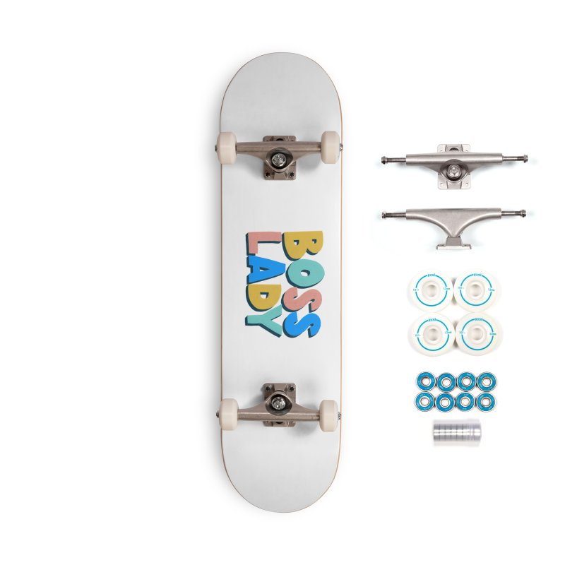 Boss Lady Accessories Complete - Basic Skateboard by Sam Osborne Store