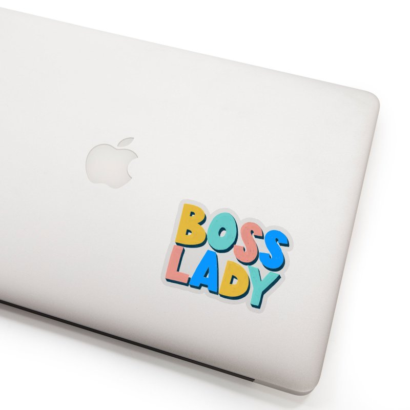 Boss Lady Accessories Sticker by Sam Osborne Store